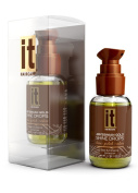 Abyssinian Gold Hair Shine Drops with Abyssinian & Pequi Oil by IT, Contains Moisture Restoring Antioxidants, Vitamin A and Vitamin E, Proteins and Lipids. Shines, Protects, and Restores Hair. Highly Concentrated Oil Revives and Fortifes even the Dries ..
