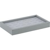 Grey Tray With 24 Ring Grey Pad