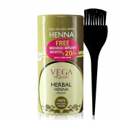 Vega Naturals Herbal Henna Powder 1 Kit