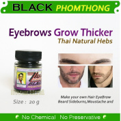 20g Grow Moustache,Beard,Sideburns,Eyebrows Herbal Cream