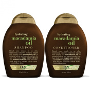 OGX Shampoo, Hydrating Macadamia Oil, 380ml
