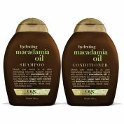 OGX Shampoo, Hydrating Macadamia Oil, 380ml