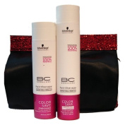 SCHWARZKOPF BC Bonacure Holiday Colour Save Duo with Free bag