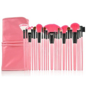 Smile High quality 24pcs Professional Makeup Brushes Set Cosmetic Make up