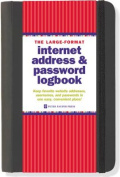 The Large-Format Internet Address & Password Logbook