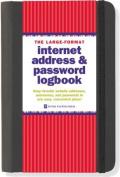 The Large-Format Internet Address & Password Logbook