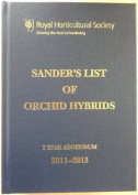 Sander's List of Orchid Hybrids 3 Years Addendum 2011-2013