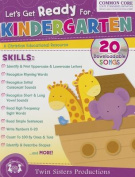 Let's Get Ready for Kindergarten Christian Bind-Up Workbook