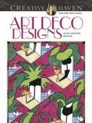 Creative Haven Art Deco Designs Coloring Book