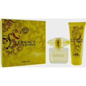 VERSACE YELLOW DIAMOND® by Gianni Versace Perfume Gift Set for Women (EDT SPRAY 90ml & BODY LOTION 3