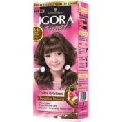 Igora Trendy Hair Colour Cream No.5.65 Light Brown Auburn Gold Colour 50ml