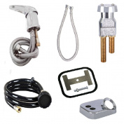 UPC Certified Salon Shampoo Bowl Faucet, Sprayer & Vacuum Breaker