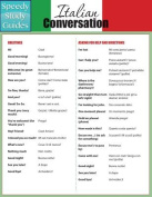 Italian Conversation (Speedy Study Guides