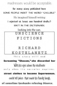 Unscience Fictions