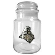 NCAA 920ml Glass Candy Jar with Primary Logo