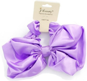 From Your Secret Admirer -2 In 1 Hair Scrunchie With Bow - Purple