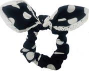 Spotty Bow Scrunchie Buy BLK Get Blue Free