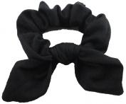 Classic Black Scrunchie.