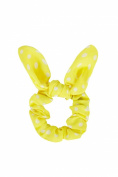 Yellow Spot Scrunchie.