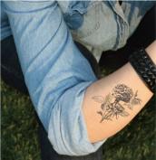 Floral, Temporary Tattoo, Body Tattoo, Tattoo Sticker