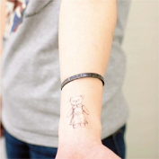 Bear Tattoo, Temporary Tattoo, Body Tattoo, Tattoo Sticker