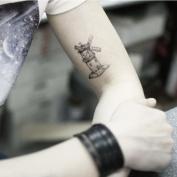 Windmill Tattoo, Temporary Tattoo, Body Tattoo, Tattoo Sticker