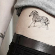 Horse Tattoo, Temporary Tattoo, Body Tattoo, Tattoo Sticker
