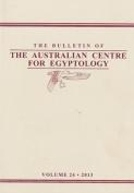 Bulletin of the Australian Centre for Egyptology