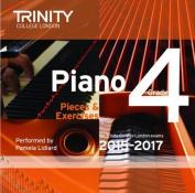 Piano 2015-2017: Grade 4 [Audio]