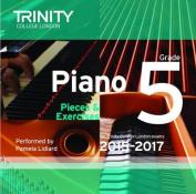 Piano 2015-2017: Grade 5 [Audio]
