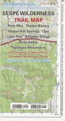 Sespe Wilderness Trail Map
