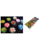 Thai Spa Candle : Relaxed Aroma Wildflower Candle in Tealight (10 Pcs.) Made in Thailand ( by abobon )best sellers