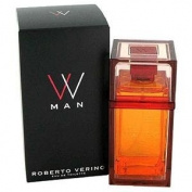 Roberto Verino VV Man Eau De Toilette Spray 100ml / 3.4 Fl.oz for Men NEW PACKAGING