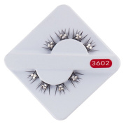 Smile The Bride Wedding Dress Style Rhinestone False Eyelashes