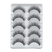 Smile Eyelashes 5 Pairs/Lot Eyelash Extension False Eyelashes