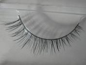 Smile Black false eyelashes natural dishevelling cross short design False Eyelashes