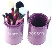Smile 13pcs red/purple/Black Makeup Eyeshadow Brushes Set