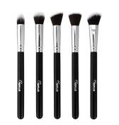 Smile 5pcs Thin Brush Set Fibre Long Tiny Cosmetic Makeup Brush
