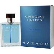 CHROME UNITED by Azzaro SET-EDT SPRAY 50ml & AFTERSHAVE BALM 70ml