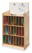 Whitney Brothers Birch Laminate Mail And Message Centre