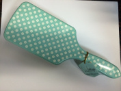 Paul Mitchell Pro Tools Vintage Collection Limited Edition Mint and White Polka Dot Paddle Brush