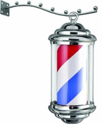 K-Concept Chrome Plated Barber Pole, Bp1243