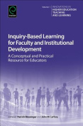 Inquiry-Based Learning for Faculty and Institutional Development