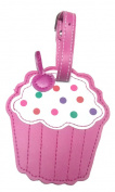 Children's Novelty Luggage Tags - CUPCAKE -