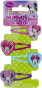 Minnie Mouse Snap Clips With Motif