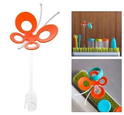 Boon Fly Drying Rack Accessory, Orange