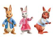 3 Pack Figures Peter Rabbit & Friends