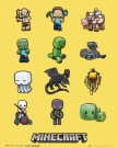 "Minecraft (Characters) Mini Poster 16"" x 20"" MP1655"