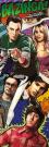 The Big Bang Theory (Comic) Midi Poster 30.5x91.5cm MD0278
