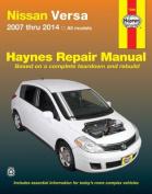 fits Nissan Versa Automotive Repair Manual